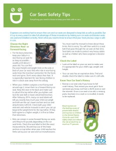 CAR SEAT SAFETY TIPS_Page_1